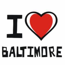 I Love Baltimore T-Shirt