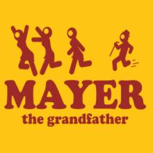 Mayer The Grandfather Stofftasche