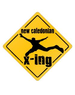 New Caledonian X-ing Crossing Sign