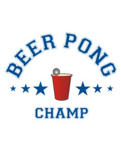 Beer Pong Champ Crossing Sign