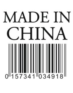 Made in China Crossing Sign