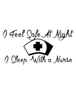 Crossing Sign de I Feel Safe At Night I Sleep With a Nurse