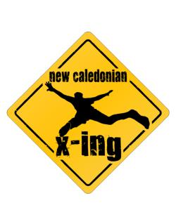 New Caledonian X-ing Parking Sign