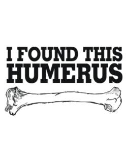 I found this humerus Parking Sign