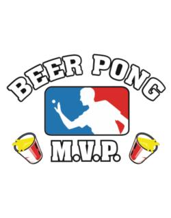 Beer Pong MVP Parking Sign