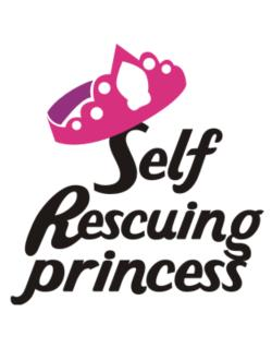 Self Rescuing Princess  Parking Sign