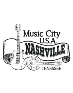 Music city Usa Nashville Tennessee Parking Sign
