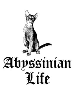 Abyssinian life Parking Sign