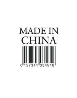 Made in China Street Sign
