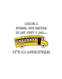 Being a school bus driver is not just a job Street Sign
