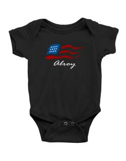 Alroy - Us Flag Baby Bodysuit
