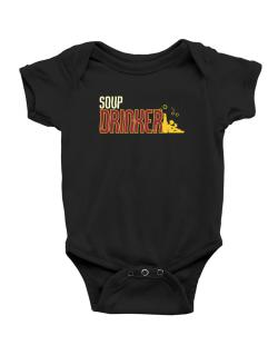 Soup Drinker Baby Bodysuit