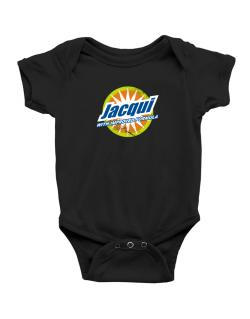 Jacqui - With Improved Formula Baby Bodysuit