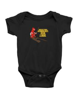 Agricultural Microbiologist Ninja League Baby Bodysuit