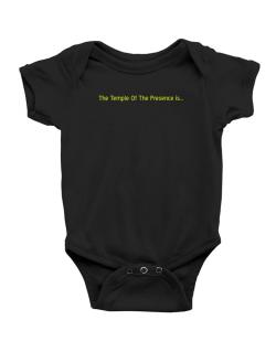 The Temple Of The Presence Is Baby Bodysuit