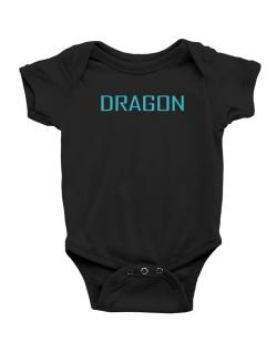Dragon Basic / Simple Baby Bodysuit
