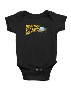 Boating Not From This World Baby Bodysuit