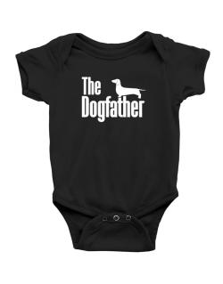 The dogfather Dachshund Baby Bodysuit
