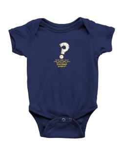 Who Are You? And Why Are You Reading My Amused Shirt? Baby Bodysuit