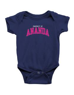 Property Of Ananda Baby Bodysuit