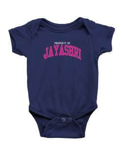 Property Of Jayashri Baby Bodysuit