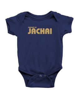 Property Of Jachai Baby Bodysuit