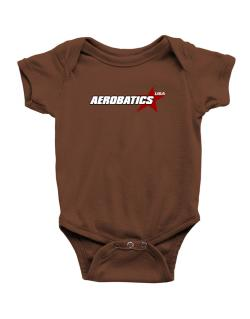 Aerobatics Usa Star Baby Bodysuit