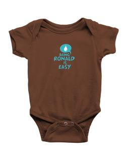 Being Ronald Is Easy Baby Bodysuit
