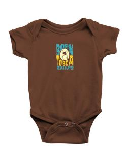 Born To Be A Rebab Player Baby Bodysuit