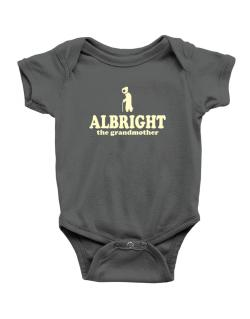 Albright The Grandmother Baby Bodysuit