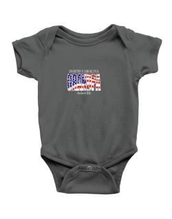 Grandpa Asheville - Us Flag Baby Bodysuit