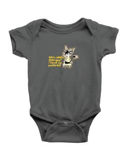 Who Needs Therapy? I Have My Pantherette Baby Bodysuit