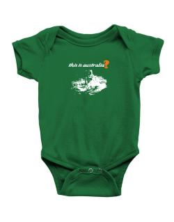 This Is Australia? - Astronaut Baby Bodysuit