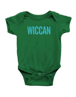 Wiccan - Simple Baby Bodysuit