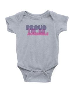 Proud To Be Accessible Baby Bodysuit