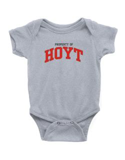 Property Of Hoyt Baby Bodysuit