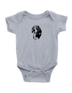 Beagle Face Special Graphic Baby Bodysuit