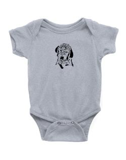 Labradoodle Face Special Graphic Baby Bodysuit