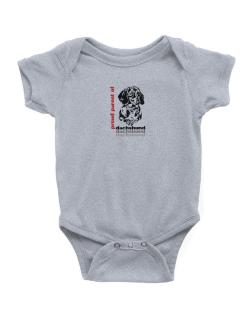Proud Parent Of A Dachshund Baby Bodysuit