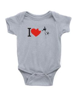 I love Australian Cattle Dogs Baby Bodysuit