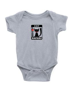 Cat Lover - Safari Baby Bodysuit