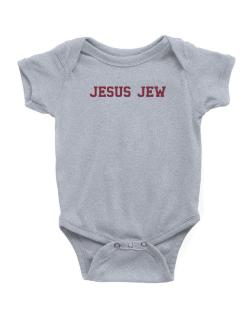 Jesus Jew - Simple Athletic Baby Bodysuit