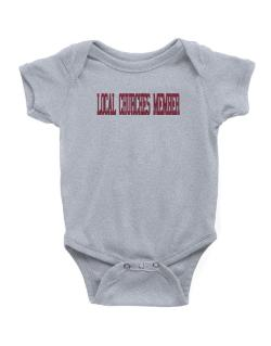 Local Churches Member - Simple Athletic Baby Bodysuit