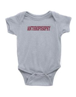 Anthroposophy - Simple Athletic Baby Bodysuit