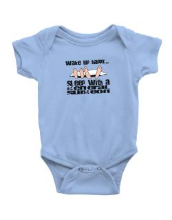 wake up happy .. sleep with a General Surgeon Baby Bodysuit