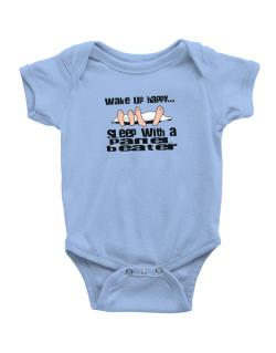 wake up happy .. sleep with a Panel Beater Baby Bodysuit
