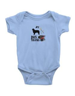 My Australian Shepherd Does Tricks ! Baby Bodysuit