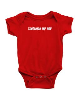 Tanzanian Hip Hop - Simple Baby Bodysuit
