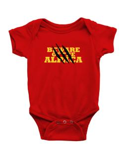 Beware Of The Alpaca Baby Bodysuit