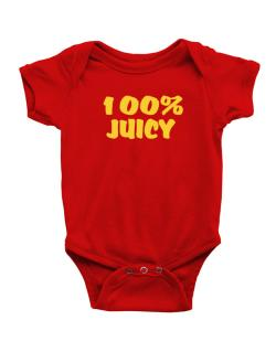 100% Juicy Baby Bodysuit